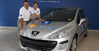 Peugeot 308 HDi: deux records à son actif