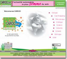 Le premier site automobile français pour les femmes