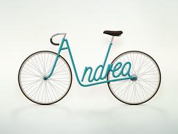Design : Write a Bike, le vélo à votre nom
