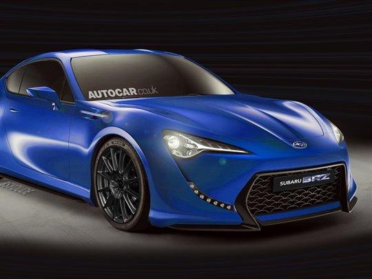 Future Subaru BRZ: plus puissante que sa cousine Toyota