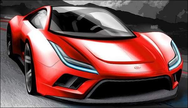 "New York 2008 : Saleen S5S ""veloce"" Raptor Concept"