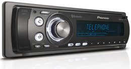 Autoradio Pioneer DEH-P55BT : Bluetooth, iPod et Rainbow