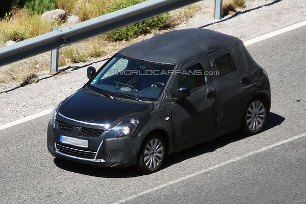 Spyshot : future Suzuki Swift