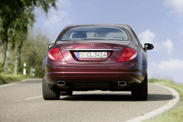 Genève 2008 : Mercedes CL500 4Matic, le coupé intégral