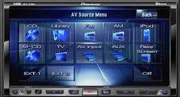 Pioneer AVIC-HD 1BT : Système de navigation multimédia