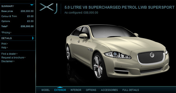 Nouvelle Jaguar XJ : vous la voulez comment ?