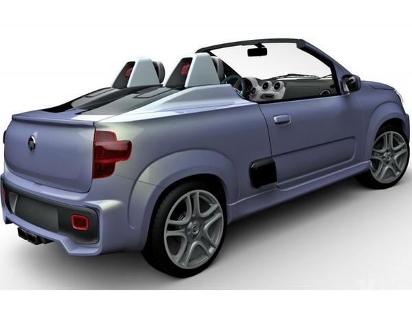 Salon de Sao Paulo : Fiat Uno Roadster et Sporting