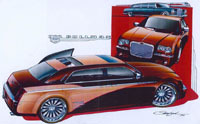 Chrysler 300 C Pullman au SEMA Show