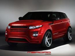 Mer-nazz : le Range Rover Evoque de Merdad Collection