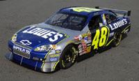 NASCAR: nouvelle Chevy Impala SS