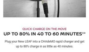 Une pub sur la Nissan Leaf bannie pour tromperie sur la recharge