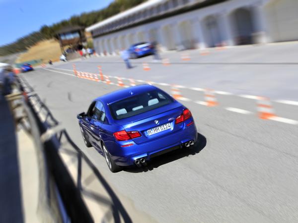 BMW M5 F10 : un nouveau 0 à 100km/h abattu en 3,7 secondes