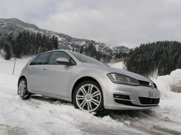 Essai Volkswagen Golf 4Motion : holiday on ice