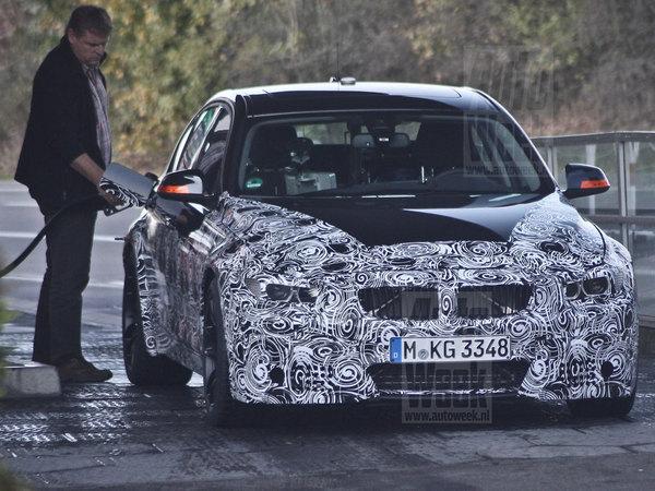 Surprise : la future BMW M3 avec une boîte manuelle