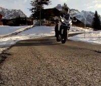 Vidéo moto : le Multistrada Winter Tour