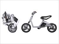 MIT Media Lab Smart Cities : un scooter électrique pliable !