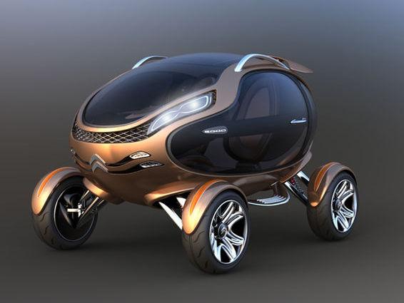 Citroën Eggo: concept de citadine du futur