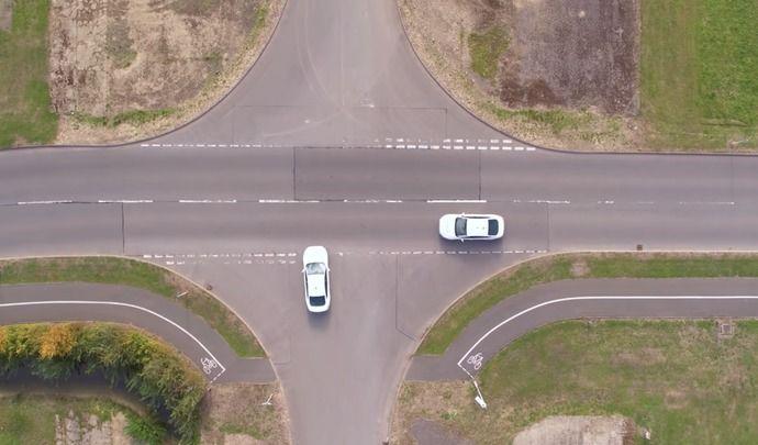 Et si les intersections étaient dépourvues de signalisation?
