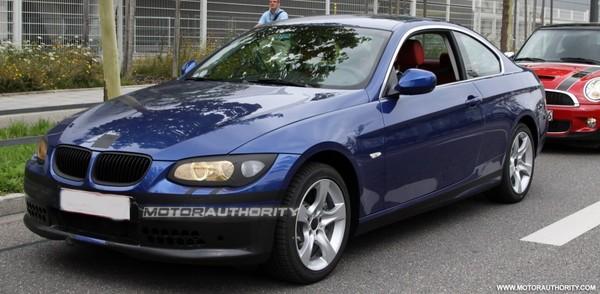 Spyshot : BMW Serie 3 coupé restylée
