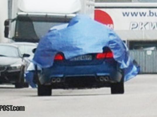Spyshot : sous la jupe de la prochaine BMW M5