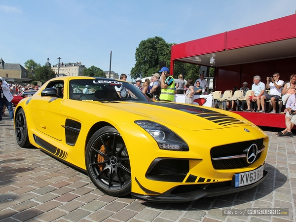 Photos du jour : Mercedes SLS Black Series (Parade des Pilotes)