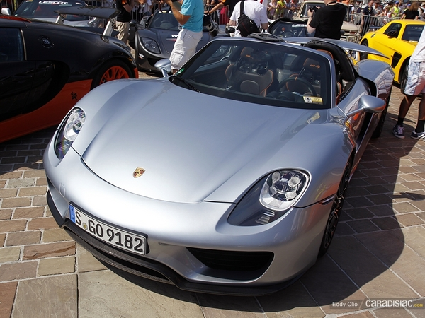 Photos du jour : Porsche 918 Spyder (Parade des Pilotes)