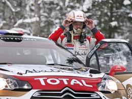 Citroën en WTCC - Loeb s'entraine sur une DS3...