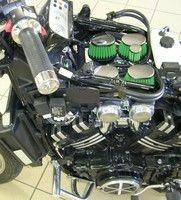 Votre moto prend un grand bol d'air avec le kit racing de Green Filter.