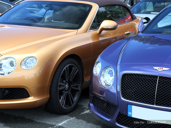 Photos du jour : Bentley Continental GT V8 Cabriolet