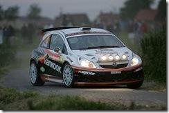 IRC Barum Rally : Mikkelsen sur une Opel Corsa, Prokop sur une Peugeot 207