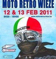 Moto Rétro Weize les 12 et 13 février 2011 : les Ducati seront à l'honneur.