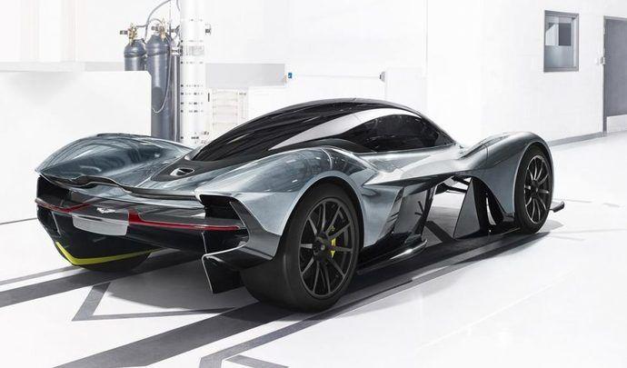 Aston Martin : l'intérieur de l'hypercar Valkyrie en fuite