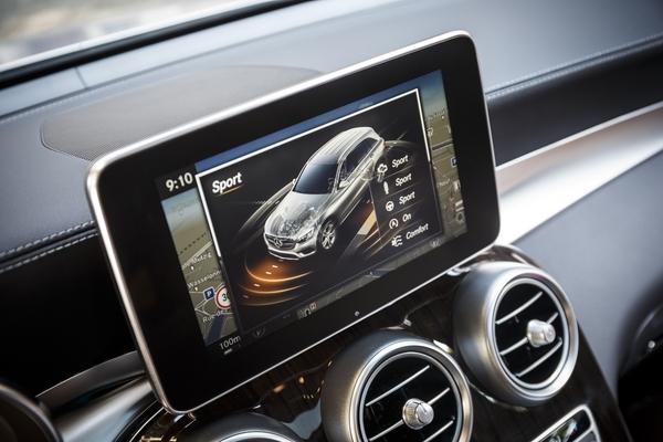 Android магнитолы на Mercedes GLC