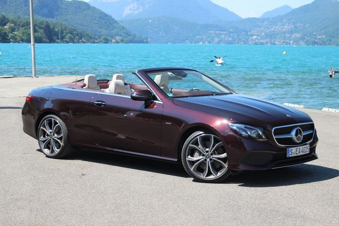 Photo Mercedes Classe E 5 Cabriolet