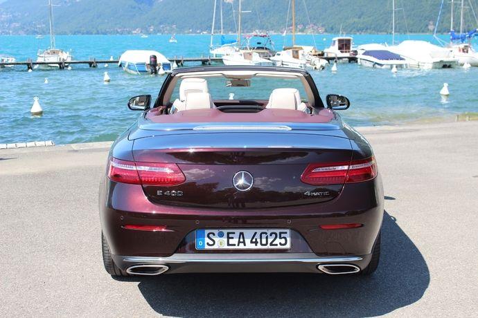 Photo Mercedes Classe E 5 Cabriolet