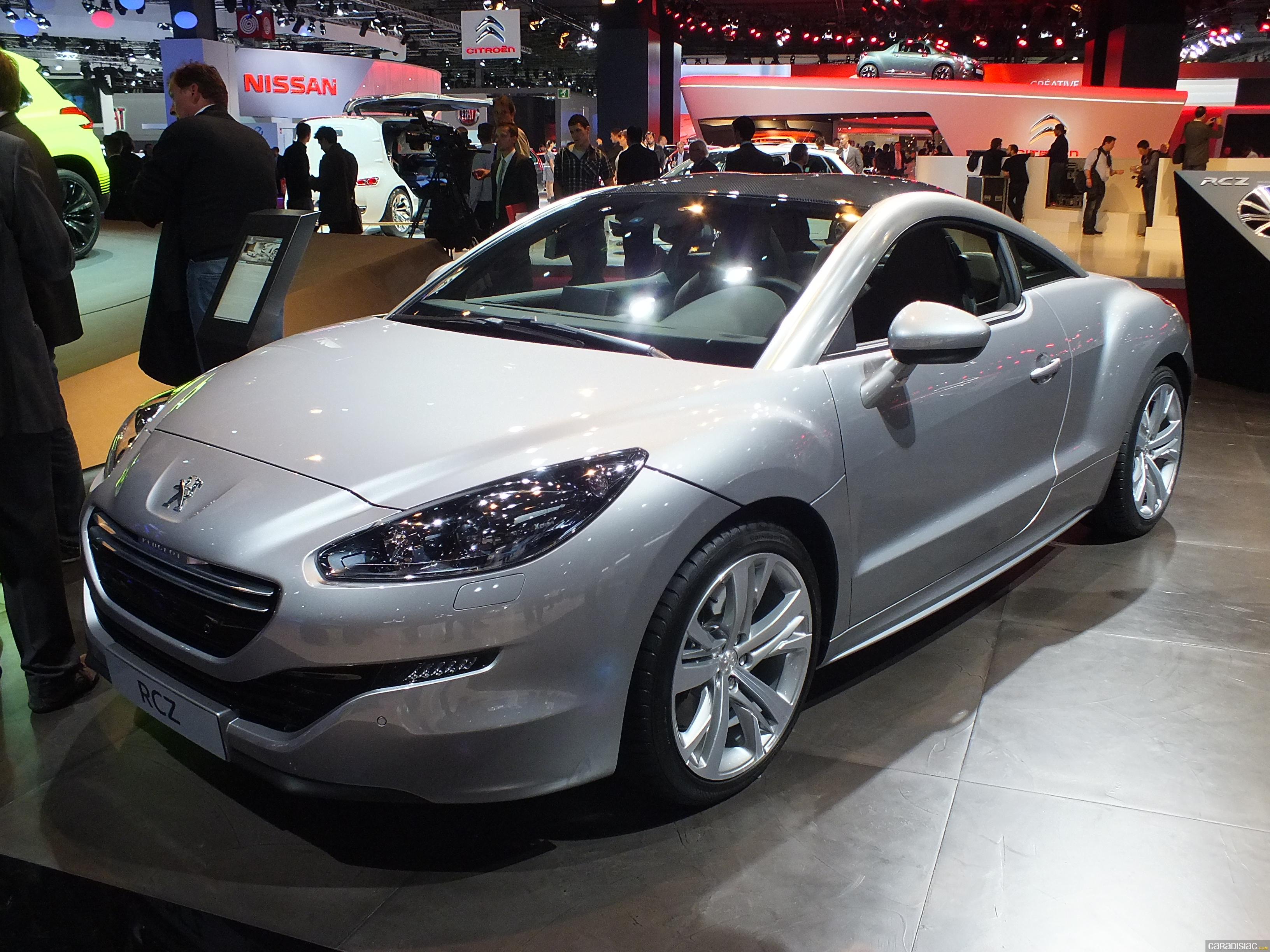 photos peugeot rcz. Black Bedroom Furniture Sets. Home Design Ideas