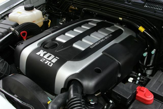 4X4 ssangyong musso 2.9 diesel moteur mercedes