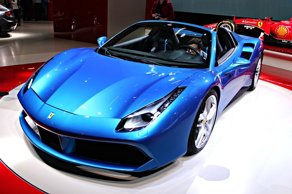 Photo Ferrari 488 Spider