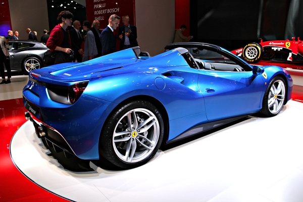 Photo Ferrari 488 Spider