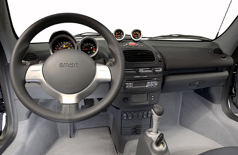 Photos smart roadster coupe for Smart interieur