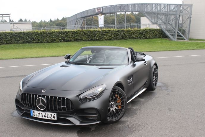 Photo Mercedes-amg Gt Roadster