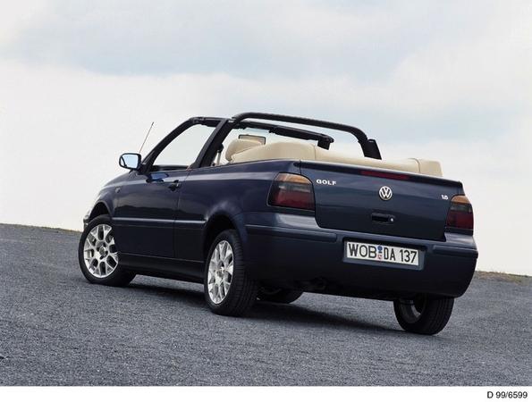 Photo Volkswagen Golf 4 Cabriolet