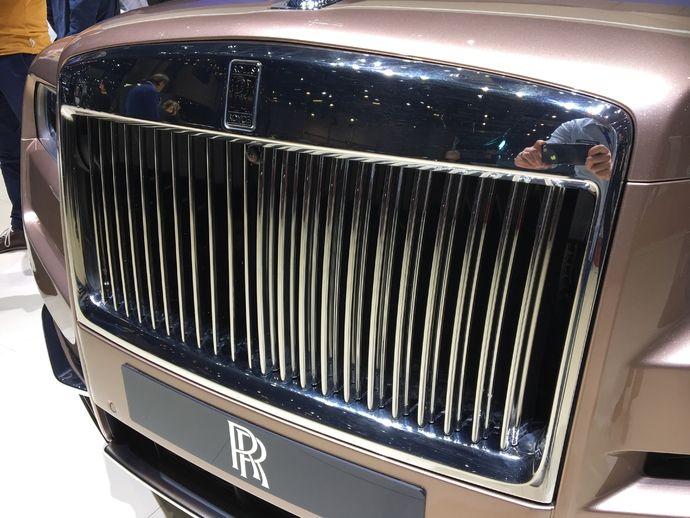 Photo Rolls Royce Cullinan