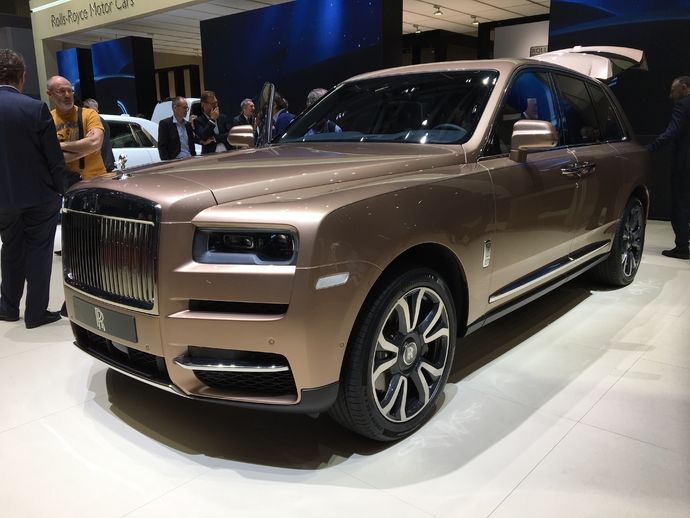 Photo Rolls Royce Cullinan