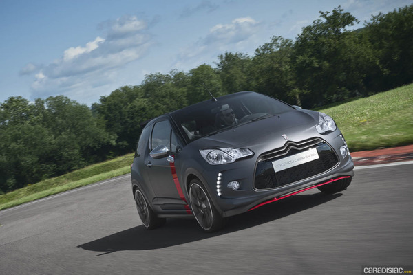 Photo Citroen Ds3 Cabrio Racing