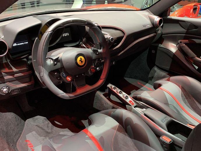 Photo Ferrari F8 Tributo