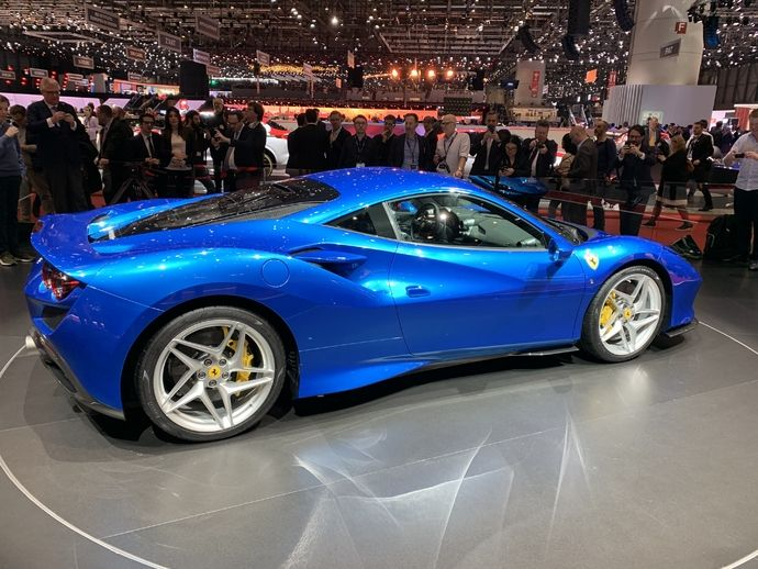Photo Ferrari F8 Tributo