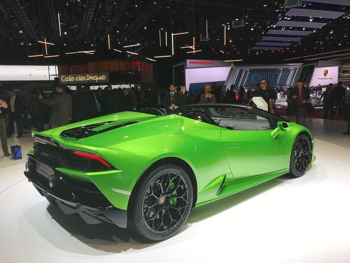 Photo Lamborghini Huracan Spyder