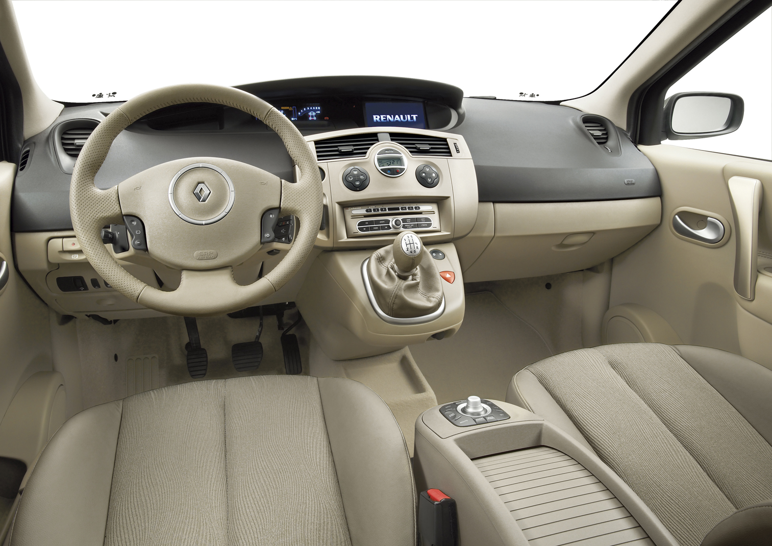 Photos renault scenic 2 for Renault 9 interieur