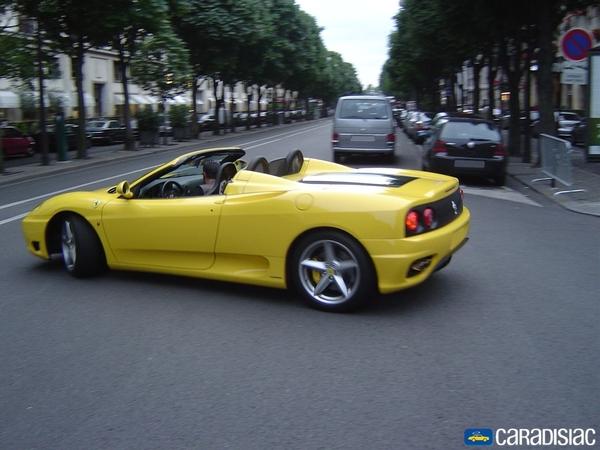 Photo Ferrari 360 Modena Spider